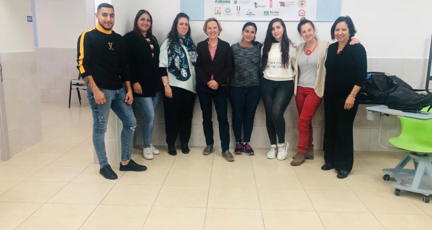 كلية سخنين في ورشة عمل دولية بجامعة لينز في النمسا من خلال المشروع الأوروبي CURE